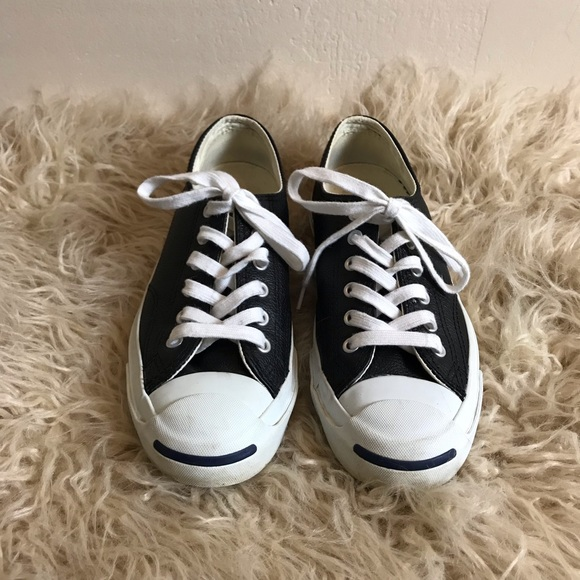 f2b4fb5fb325 Converse Shoes - Converse Jack Purcell Tumbled Leather Low tops